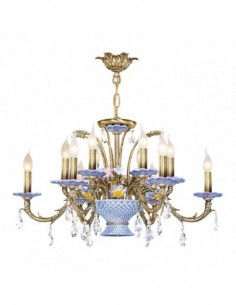 Ceramic lamp L Valencia
