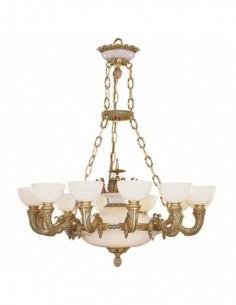 Империал лампа алебастр S