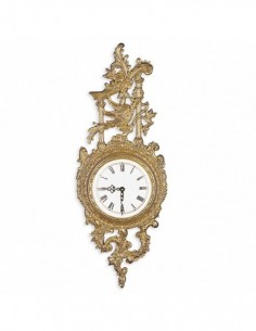 Burl wall clock